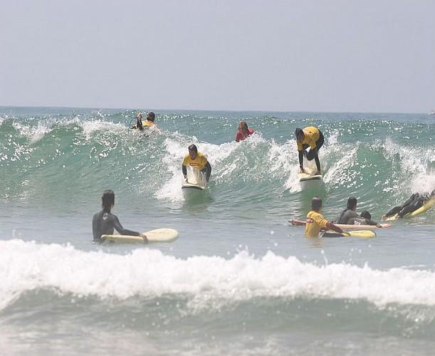 départ surf