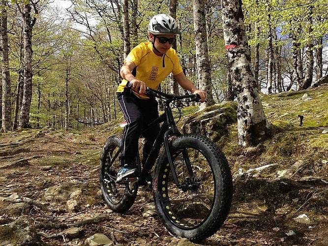 Mendi Gaiak - activité Fat Bike