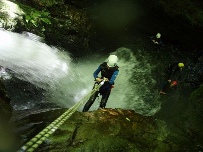 Mendi Gaiak - canyoning