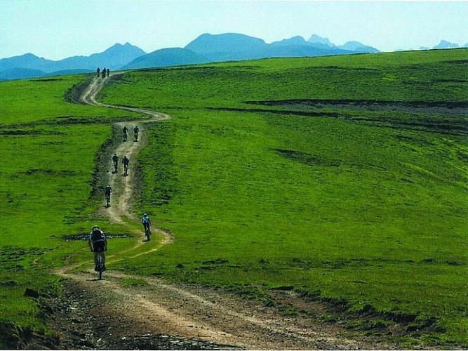 Mendi Gaiak - randonnée en VTT