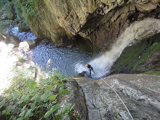 Alexis AUGUSTIN - Canyon Harpea cascade