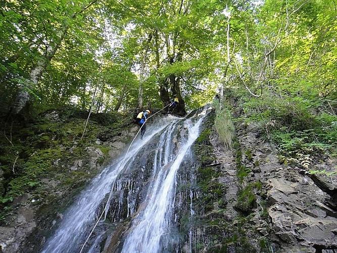 Alexis AUGUSTIN - Canyon Ourdaibi descente cascade