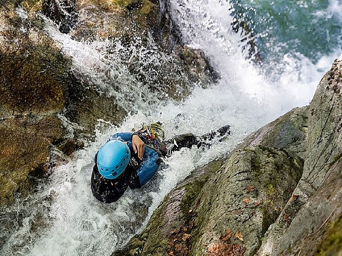 Expérience Canyon - Lons - plongeon