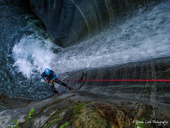 Expérience Canyon - Lons - baignade