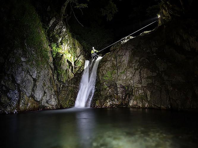 Expérience Canyon - Lons - cascade