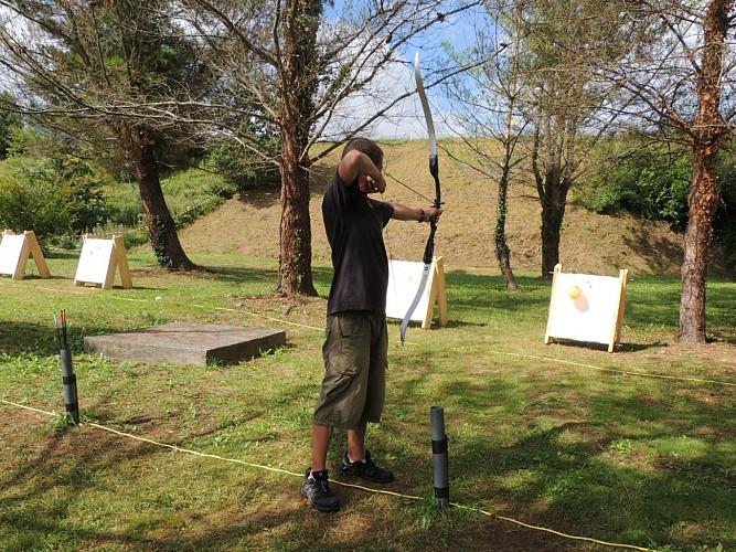 Les Archers du Barétous - Tir à l'arc démo