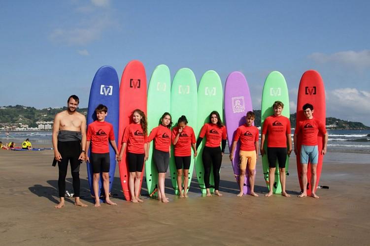 Ecole de Surf Txingudi Groupe