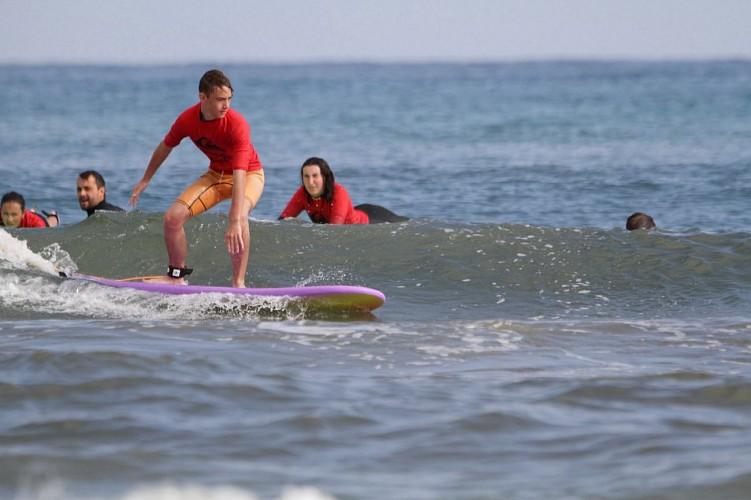 Ecole de Surf Txingudi Perfectionnement