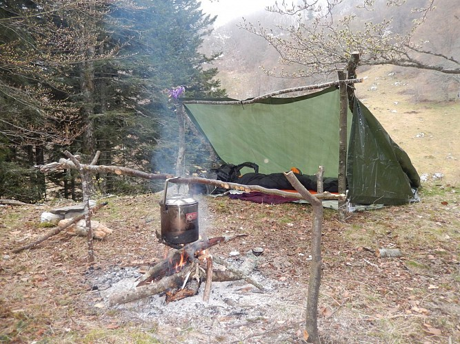 Naturaddict'64 - Stage d'initiation survie_bushcraft (Vernejoul Guillaume)