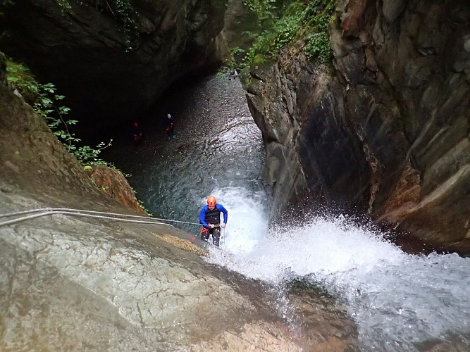 Canyon du Bitet Ur Eta Lur-1