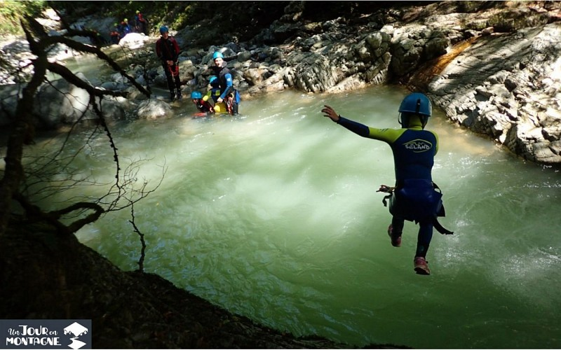 Un jour en montagne - Gan - Canyoning