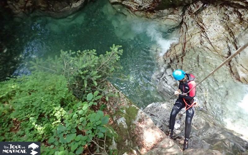 Un jour en montagne - Gan - Descente canyoning