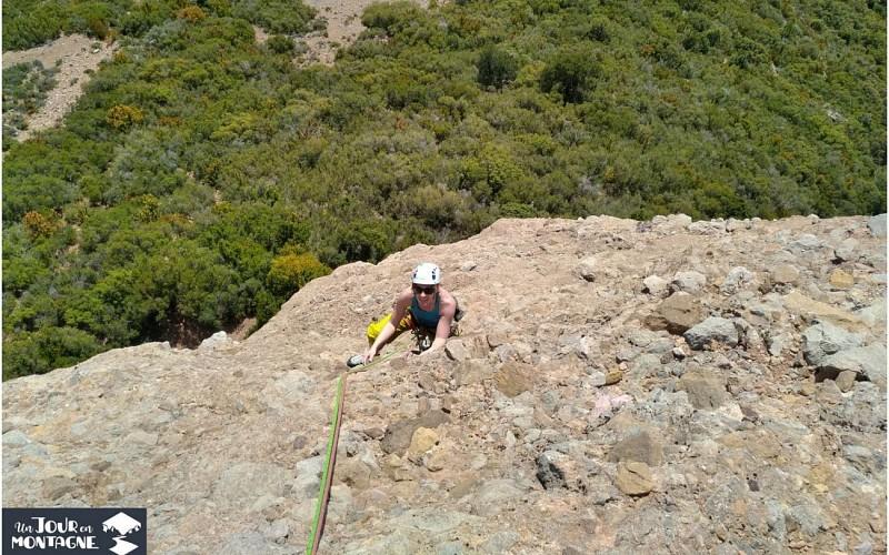 Un jour en montagne - Gan - Escalade