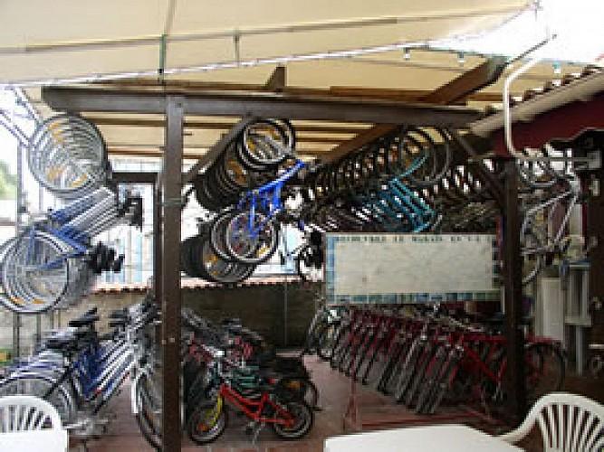 Le local des vélos