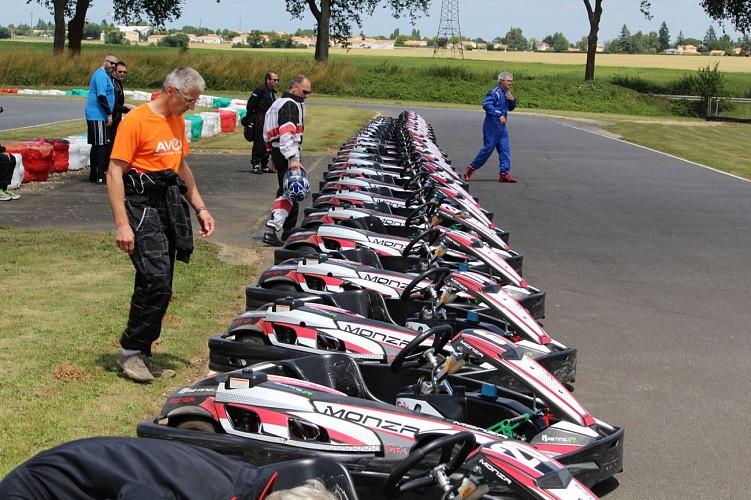 Karts Monza de 9 CV