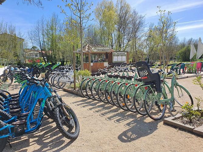 La Bicyclette Verte à Arçais