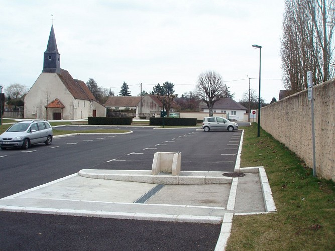 Aire camping cars Paucourt