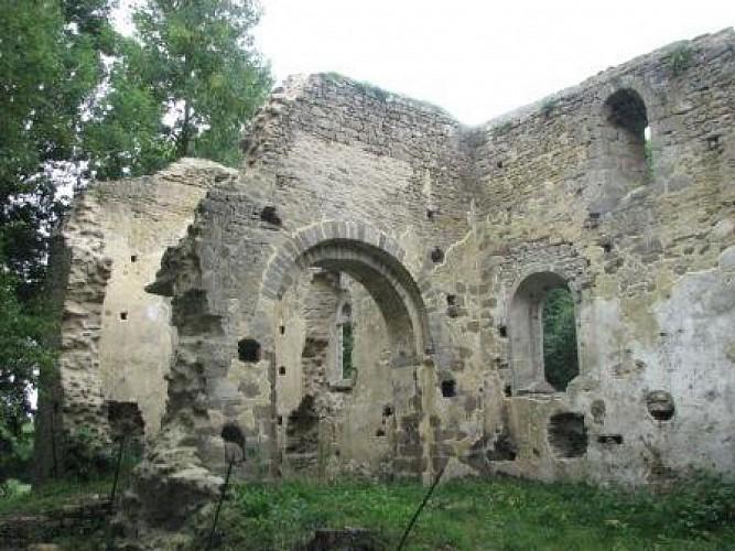 Ancienne église romane de St-André-des-Eaux