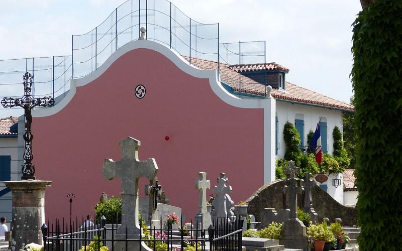Fronton - vue de l'église