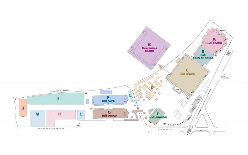 Plan-parc-des-expositions-Pau