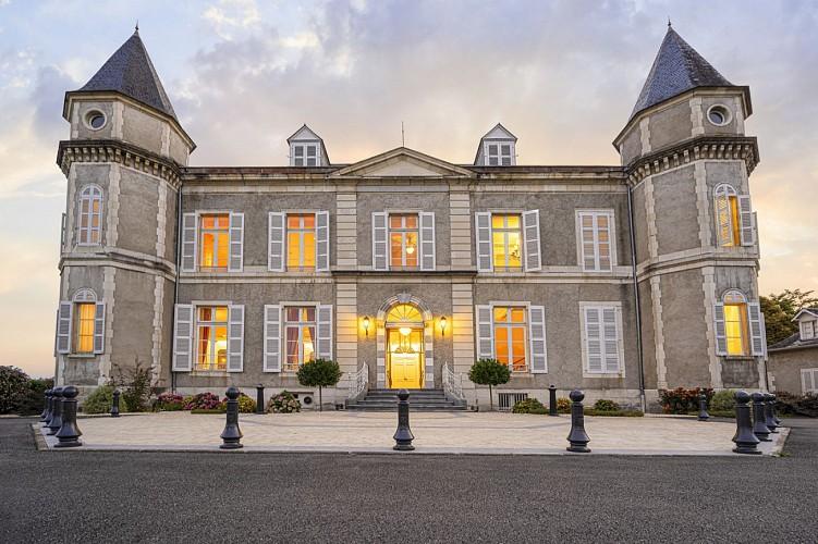Château de Franqueville - Bizanos - Façade sud