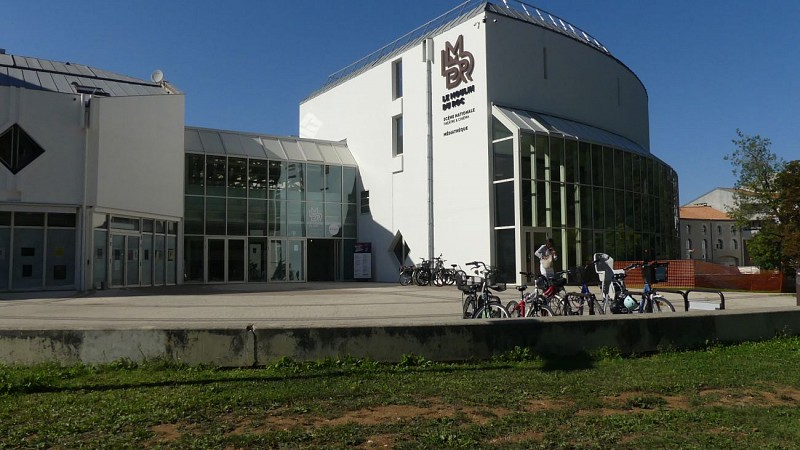 La grande salle de spectacles