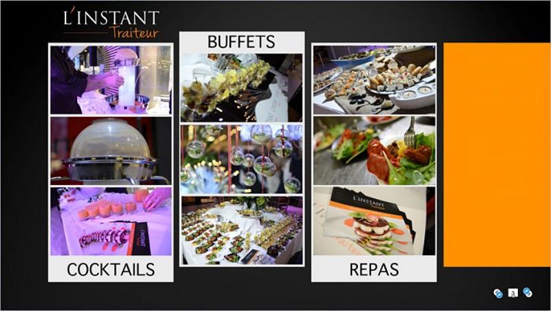 Cocktails, buffets et repas