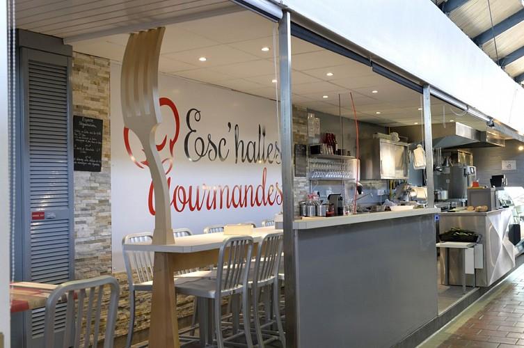 """Le restaurant-traiteur L'esc """"Halles"""" Gourmandes à Niort"""