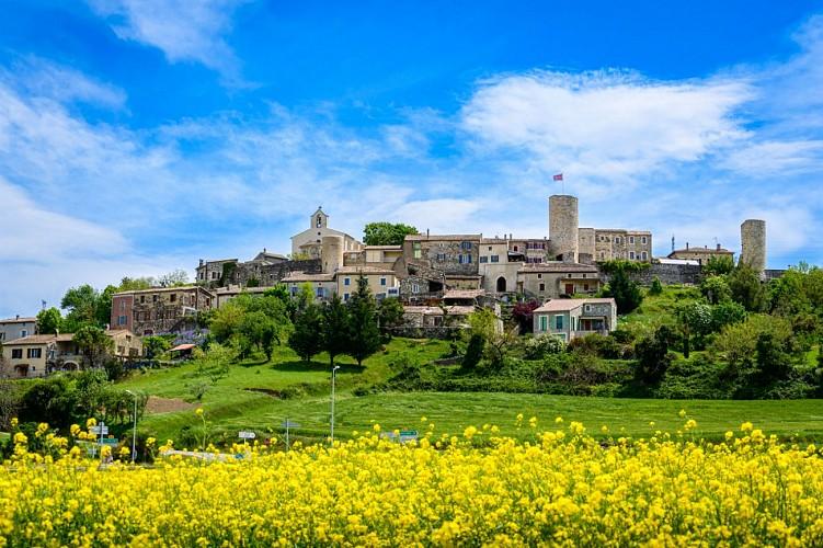 Saint-Vincent de Barrès : Village de caractère