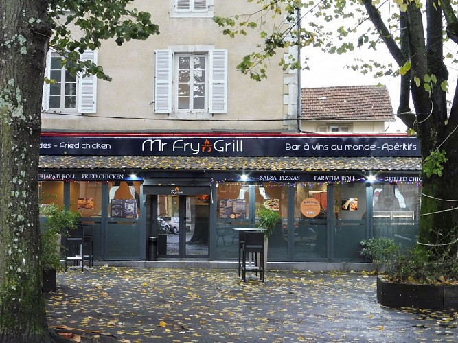 Restaurant Mr Fry N Grill - Pau - enseigne