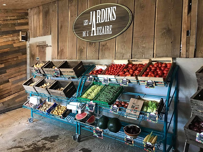LES JARDINS DE L'AUZAIRE