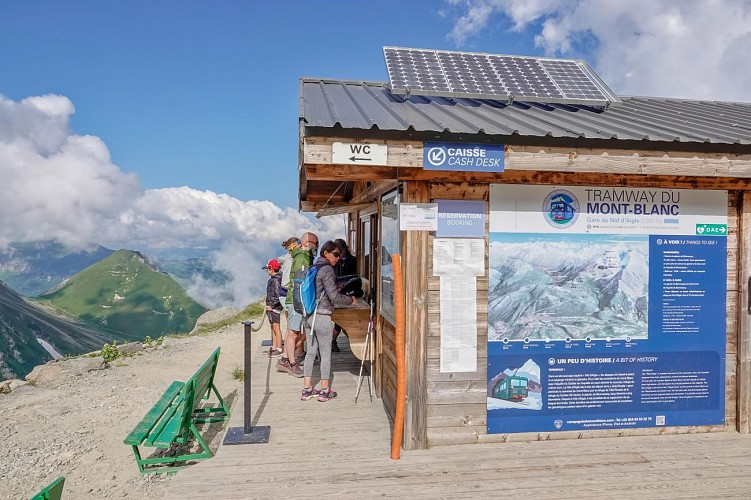 Tramway du Mont-Blanc Nid d'Aigle