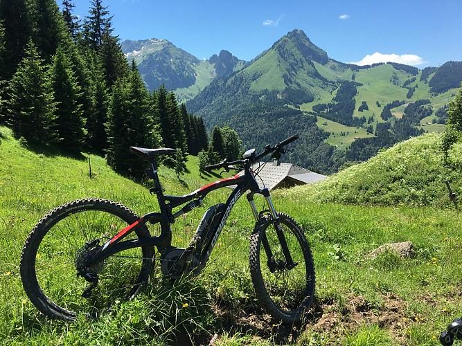 Electric terminal bike - Lake les Plagnes