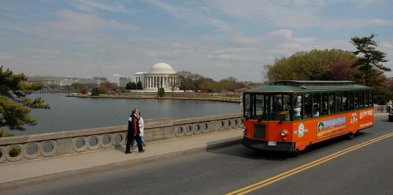 Visita de Washington en trolebús - Paradas múltiples