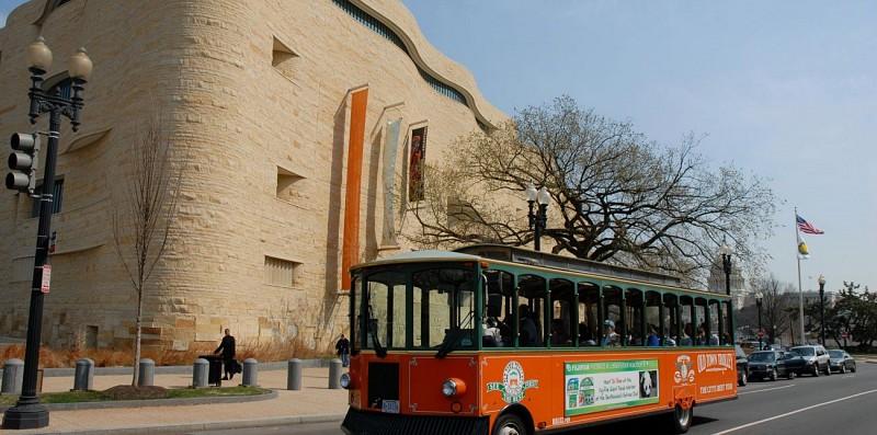Washington tour en trolley bus – Arrêts Multiples