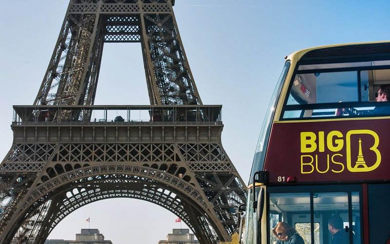 BigBus Paris: 2 Day Hop-On-Hop-Off + Skip The Line Louvre & Cruise Tickets